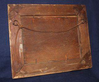 Antikes BIEDERMEIER BILD Flusslandschaft orig. 1801 1850 Öl auf Holz