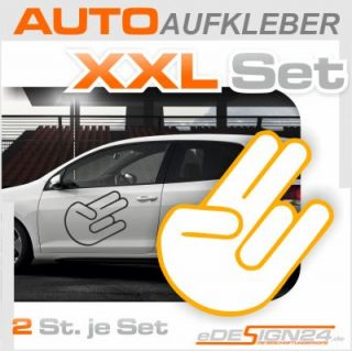 E156 Shocker Aufkleber Sticker Auto Tuning VW Golf Audi