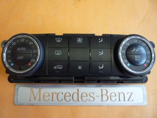 Benz R Klasse Klima Bediengerät A 251 820 79 89 2518207989