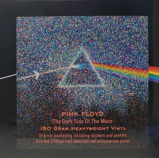 EMI   SHVL 804   180grams   PINK FLOYD   THE DARK SIDE OF THE MOON