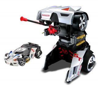 Maisto PT 808 Chrome Street Trooper RC Roboter Transformer Modell
