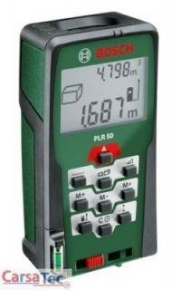 Bosch PLR50 Digitaler Laser Entfernungsmesser NEU/OVP