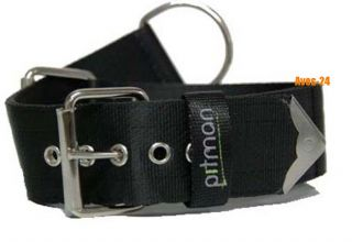 PITMAN Training Halsband SCHWARZ Gr. L Hundehalsband