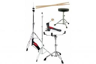 Schlagzeug Drumset 9 teilig, Snare drum, Hi Hat, Becken, Trommel