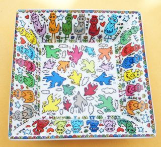 James Rizzi   The Beauty of Birds   Schale   Artis Orbis Goebel 16 cm