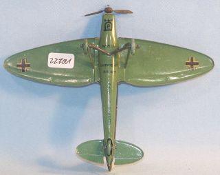 Lehmann 819 Heinkel Kampfflugzeug HE 70, 30er Original im OK (22701