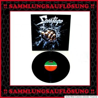 SAVATAGE Power of the Night LP 1985 aus Heavy Metal SAMMLUNG