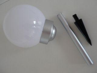6x Solar LED Gartenkugel Kugelleuchte 15cm UVP 149,