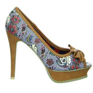 Iron Fist Schuhe Filthy Landlubber Peeptoes Multifarben Kunstleder