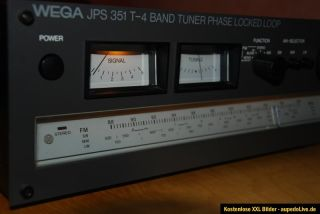 Wega JPS 351 T 4 Hifi Tuner Radio Receiver High End Rarität