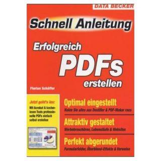 DATA BECKER SchnellAnleitung Erfolgreich PDFs erstellen