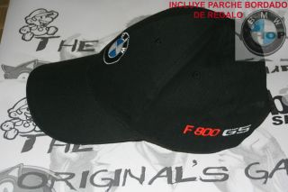 BMW Motorrad Gorra/Cap bordada. F800 GS!!Varios modelos.