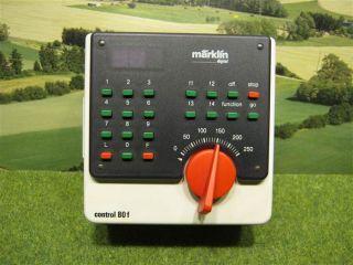 Märklin digital H0 6036 Fahrgerät control 80f / D849