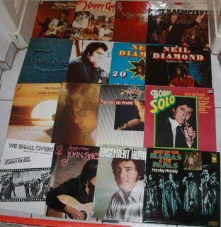 40 Stück Sammlung LP Vinyl Oldies Schallplatten Elvis Andre Solo