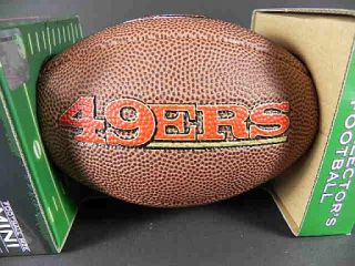 San Francisco 49 ers,Wilson Collector Football,NFL Football Soft Touch