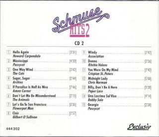 CD   Schmuse Hits 2   Die schönsten Rock Oldies   47 Super Hits auf