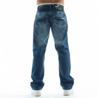 Southpole Herren Hose Straight Fit Jeans Hose