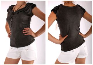 EDEL DIAMOND BUSINESS TOP BLUSE SHIRT 3DROSEN 6 FARBEN