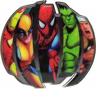 Buckle Gürtelschnalle Marvel Comic Ironman Wolverine Spiderman Hulk