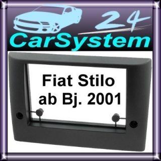 Fiat Stilo Doppel DIN 2DIN Blende Radioblende #8 / 870