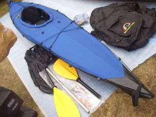 Set 3 tlg Paddel Faltboot Atlatl Altyak Falt Kajak Folding Kayak Kanu