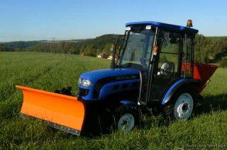 Allrad Traktor FOTON 254 Neu Schneeschild 150cm 254 Terra Trac 254