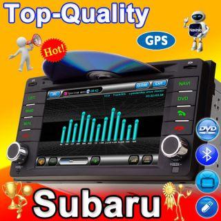 Subaru Forester Impreza DVD GPS Navigation Radio 2 Din CD Player Navi