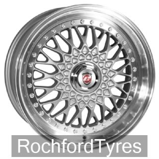 17 CALIBRE VINTAGE WIDER RE FOR VAUXHALL VECTRA 5 STUD 02 ALLOY WHEELS