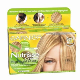 Garnier Nutrisse Creme Highlights Set Set 1 Blondierung Straehnchen