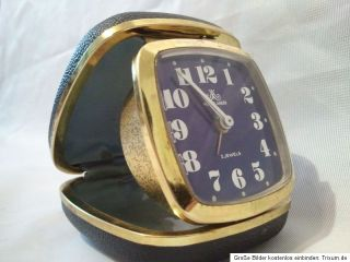 Meiser Anker Wecker Uhr Alarm Clock Reisewecker Eui