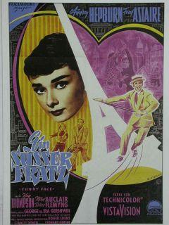 Kino 893 Filmkarte Ein suesser Fratz mit Audrey Hepburn Fred Astaire