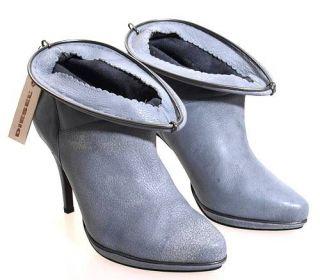 Diesel BETTY Ankle Boots Lederstiefeletten High Heels Damenschuhe Gr