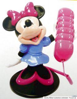 Walt Disney Minnie Mouse Phone Maus Figur Telefon Festnetztelefon