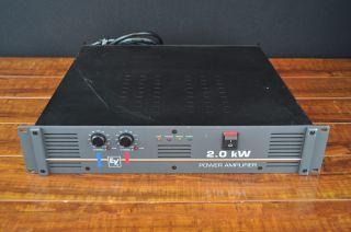 EV / Electro Voice 2.0 kW 900 Watt Stereo Power Amplifier
