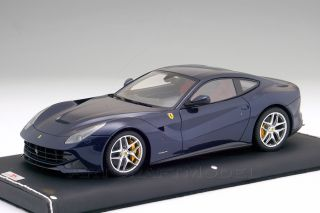 FERRARI F12 BERLINETTA 2012 Le Mans Blue 118 MR Models FE07G