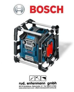 Bosch GML 20 Professional Power Box Baustellenradio 0601429700