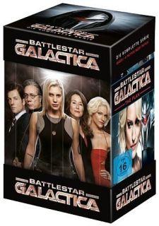 Galactica 1./2./3./4. (Die komplette Serie)  25 DVD  901