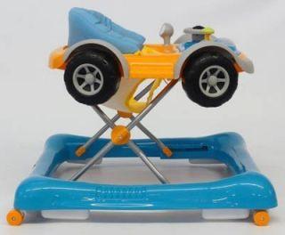Baby Walker / Lauflernhilfe   Car mit Musik, Orange