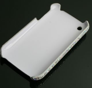 iPhone 3G 3GS S Hard Cover Tasche Schale Hülle Glitzer