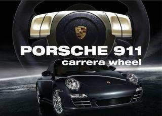Racing Lenkrad Porsche Carrera 911 Wheel + Pedale PC PS2 PS3