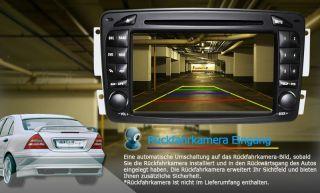 3G INTERNET DVD GPS PIP BT für Mercedes Benz C Klasse W203 CLK W209 M