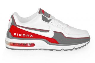 Nike Air Max White Cool Grey Sport Red 407979 166