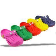 Crazy Clogs Krokodil mit Wackelaugen 5 Farben Gr.24 35