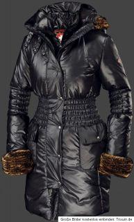 WELLENSTEYN Damen  Mantel EISENGEL schwarz GR. XL NEUw.