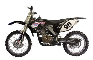 MTX250YB Enduro Cross Dirt Bike 250cc 4 Takt Schwarz