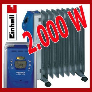 EINHELL MR 920 LCD Ölradiator HEIZUNG OFEN Heizstrahler HEIZLÜFTER
