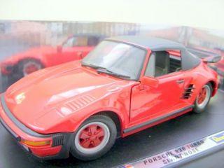 REVELL 1/18 8809 PORSCHE 930 TURBO SLANT NOSE RED