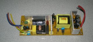 Coby TFDVD2274 E243157 Power Supply Board