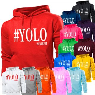 YOLO YOU ONLY LIVE ONCE DRAKE YMCMB HOODIE MENS WOMENS KIDS SWEATER