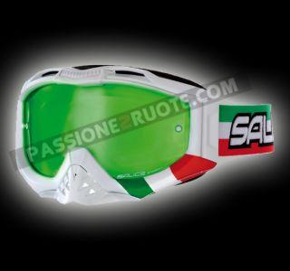 Maschera Occhiali Moto Cross Enduro Off Road Goggles Salice MX1 Ita